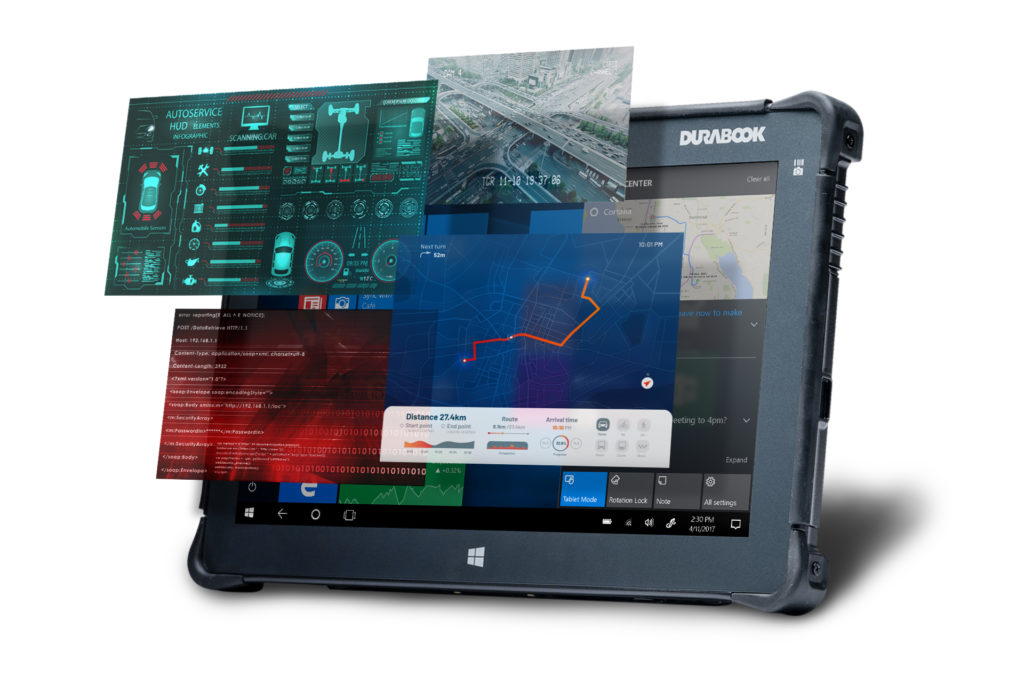 DURABOOK R11 Tablet ENTERPRISE-CLASS PERFORMANCE