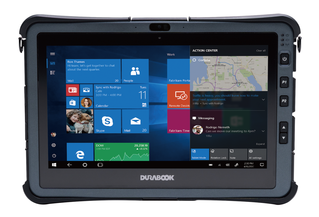 U11I Tablet Superb Performance pact and Rugged DURABOOK