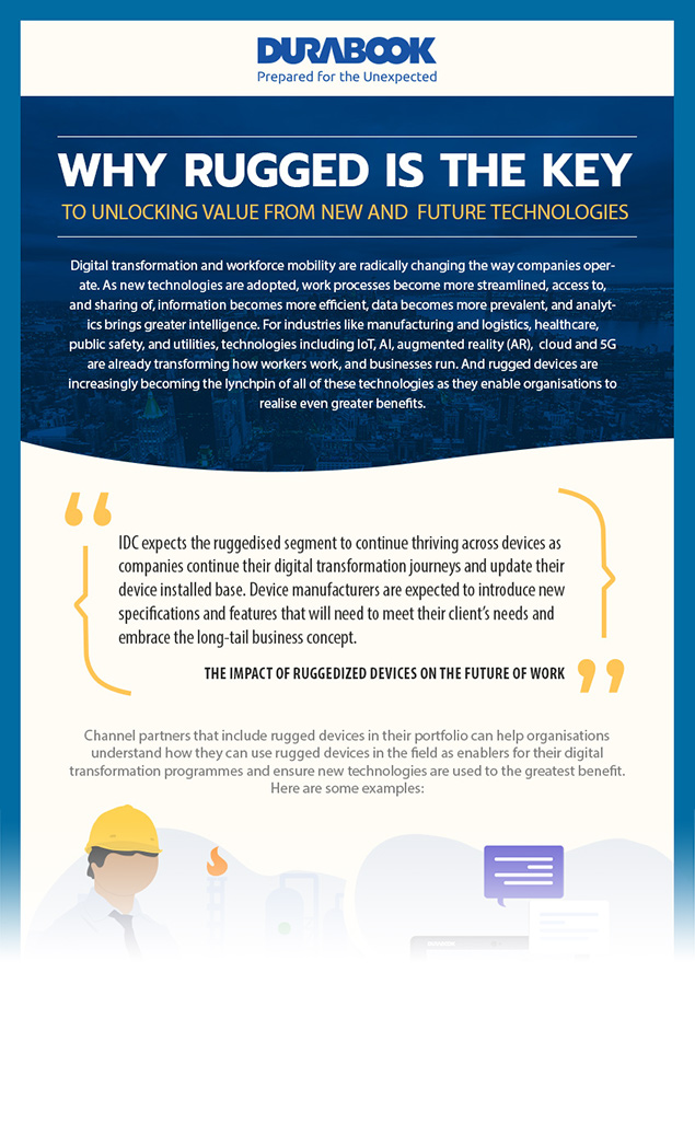 Infographic preview why rugged is key